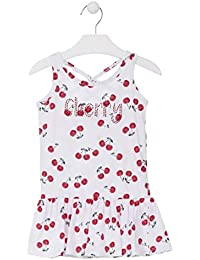 efbcee4ec losan Vestido sin Mangas con Estampado de Cerezas para niña 916-7009