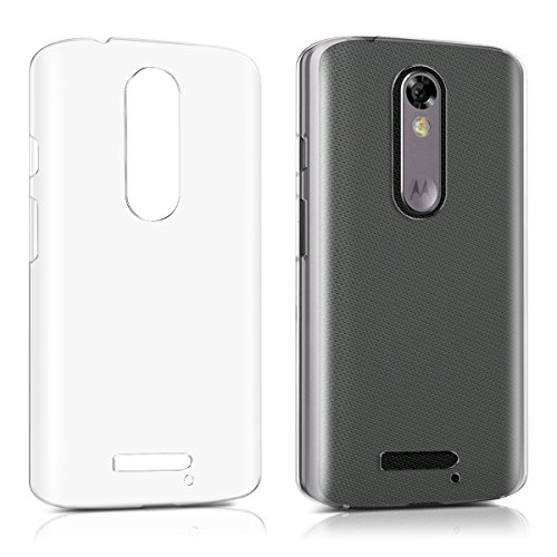 kwmobile Motorola Moto X Force Hülle - Handyhülle für Motorola Moto X Force - Handy Case in Transparent