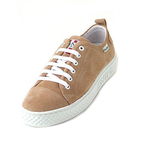 Snipe - Zapatos con Cordones de Piel Mujer