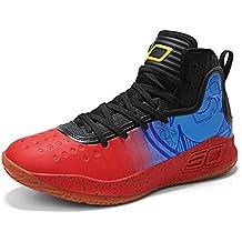 GJRRX Hombres de Baloncesto Zapatos Basket Ball Zapatos Unisex Zapatos de Entrenamiento