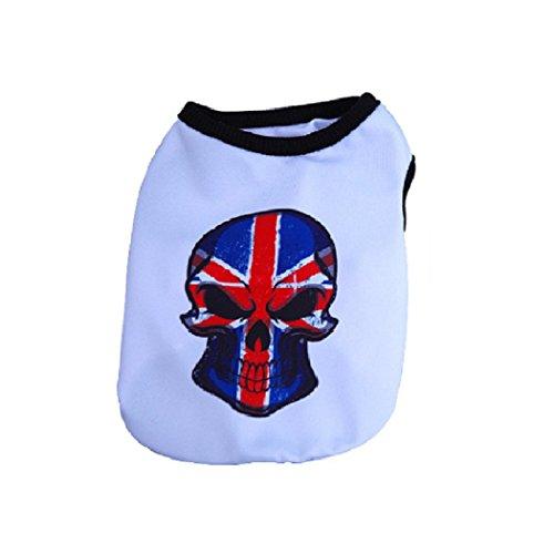 Basketball Jersey Kostüm - KayMayn Kleidung für kleine Hunde Hunde Trikot Fußball Basketball Jersey T-Shirt Welpen T-Shirt für Hunde Kostüme Haustier Welpen T-Shirt, Outdoor Sportswear Sommer atmungsaktiv(Schwarz L)