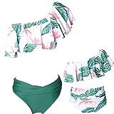 Glückliche Käufer Damen mädchen Diverse Badeanzug Raffung Einteiler High Neck Raffung Halter Bikini Set, Mutter Tochter Familie Set Bademode, Alter 5-6, 11