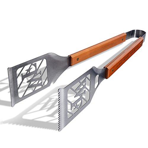 mon Diakone grill-a-tongs, schwere Edelstahl Stahl BBQ Grill Zange (Küche Tong Set)