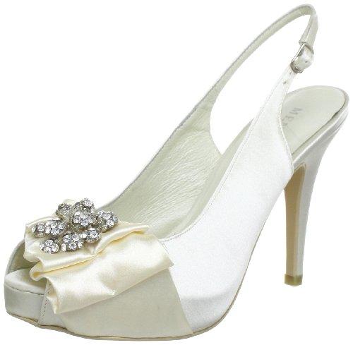 Menbur Wedding Nephin 5335 Damen Sandalen Elfenbein (Ivory 04)