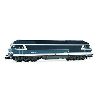 Arnold HN2382 Diesellokomotive CC 72000 der SNCF mitnoodle Logo Modellbahn, Blau