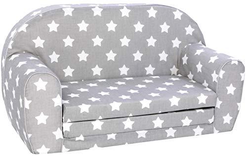 KNORRTOYS.COM Knorrtoys 68441 Stars White Kindersofa