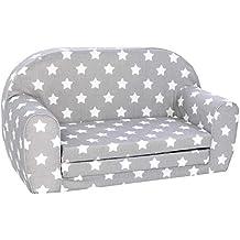 Knorrtoys 68441 Stars White sofá Infantil