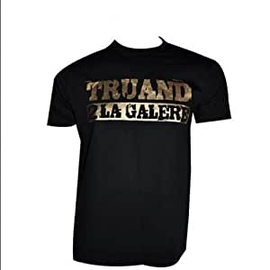 Tee Shirt Noir Dore Homme/Taille M