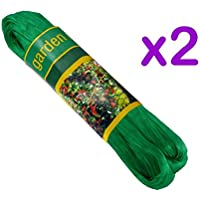 Value 4 Money Nylon Estanque de jardín Redes - 2m x 10m - 2 Packs