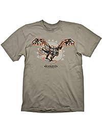 Horizon Zero Dawn T-Shirt Storm Bringer Grey , L - [Edizione: Germania]