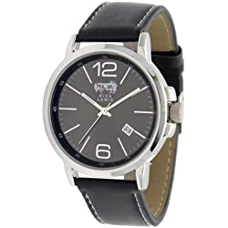 Rica Lewis Herren-Armbanduhr Analog Leder 9022312