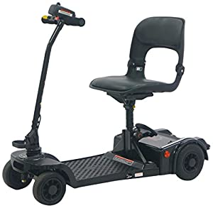 Pro Rider Easy Fold Deluxe Mobility Scooter, Black
