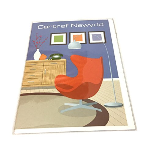 Cartref Newydd - New Home Card Orange Chair