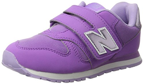 New Balance Unisex-Kinder Sneaker, Mehrfarbig (Purple/Lilac), 31 EU (12.5 UK Child) New Balance Sneakers Velcro