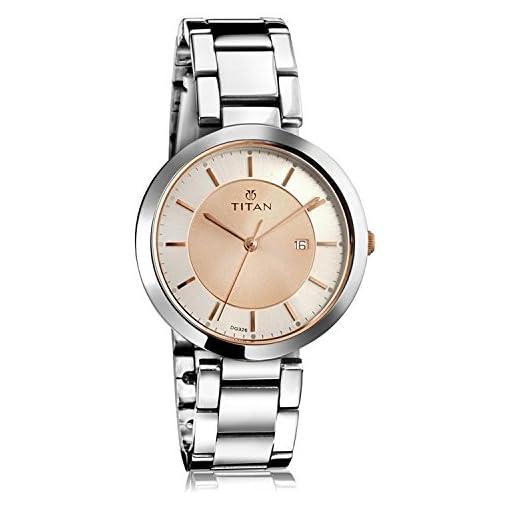 41sW  pVLCL. SS510  - Titan 2480km01 Rose Gold Women Titan watch