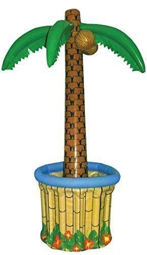 Blow up gonfiabile grande palma - bevande cooler - hawaiano pirate fancy dress