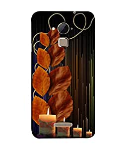 PrintVisa Designer Back Case Cover for Coolpad Note 3 Lite :: Coolpad Note 3 Lite Dual SIM (Abstract Illustration Peace Romance Floral Modern Style Vector)