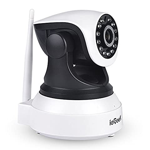 【Verbesserte】 ieGeek 1080x 720P Überwachungskameras ip kamera, Startseite Baby Monnitor,