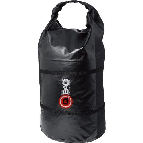QBag Gepäckrolle wasserdicht 01 bis zu 90 Liter schwarz