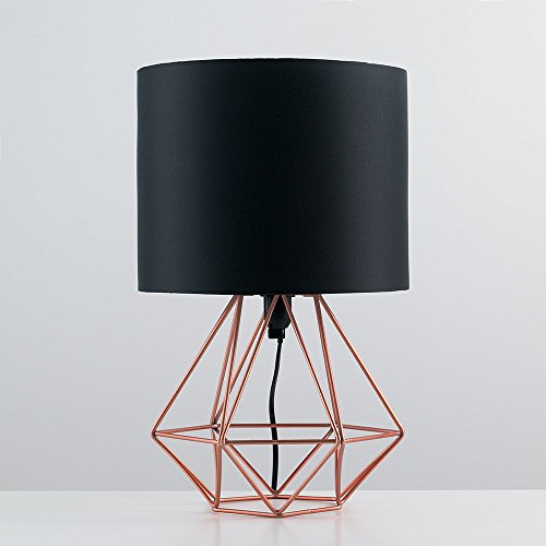 modern-copper-metal-basket-cage-style-table-lamp-with-a-black-fabric-shade