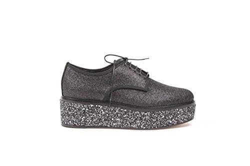 sergio-rossi-femme-a76800110-noir-autres-materiaux-chaussures-a-lacets