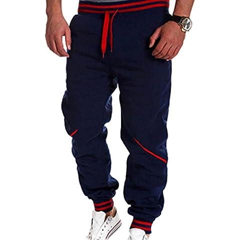 jeansian Sports Jogger Tendenze Moda Uomo Casuale Coulisse Baggy Pantaloni Della Tuta S379