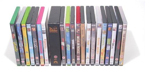Preisvergleich Produktbild DVD Aufbewahrungssystem (Kapazität 80 Stück)