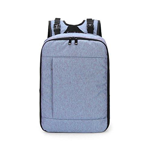 Wong Handtasche Mutter Tasche Schulter Multifunktionale Groß - Kapazität Baby Tasche 32 * 18 * 45cm,Blueandpurple
