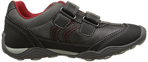 Geox Jr Arno C, Sneaker, Ragazzo, Grigio ( Grey/Red