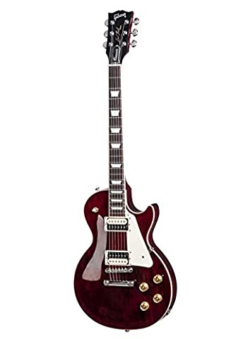 Gibson USA 2017 Les Paul Classic Electric Guitar - Wine Red