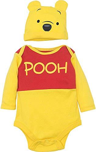 Disney Winnie The Pooh Tigger Baby Boys' Costume Bodysuit Hat Set 12Months (Pooh Und Tigger Kostüm)