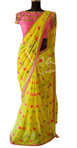 Bollywood Craze Benglori Silk Fabric Latest Desginer 2018 Collection Saree For Women...