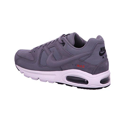 Nike Air Max Command Prm, Sneaker a Collo Basso Uomo Grigio/Nero