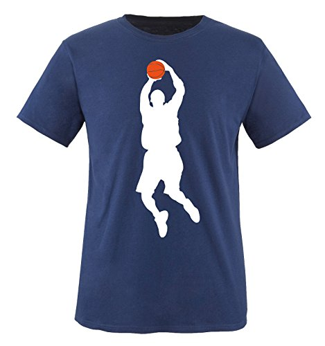 Comedy-shirts -  t-shirt - maniche corte  - ragazzo navy / weiss-orange