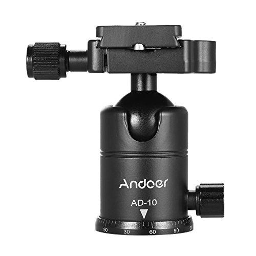 Andoer AD-10 Testa a Sfera Lega di Alluminio Camera Testa