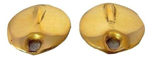 royal erado inspection cap for royal enfield (brass,set of 2) Royal Erado Inspection Cap for Royal Enfield (Brass,Set of 2) 41sW6XThnsL