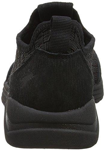 FLY London Sati949, Sneakers Basses Femme Noir (Black Sole 000)