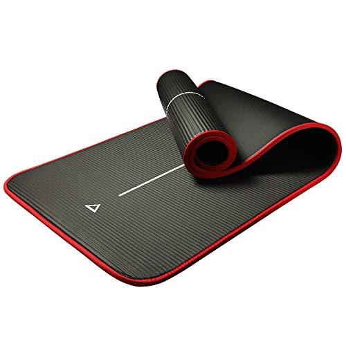 PROIRON Colchón para Yoga NBR Colchoneta Antideslizante Ideal para Pilates Ejercicios Fitness Gimnasia Estiramientos 183CM*66CM*1CM
