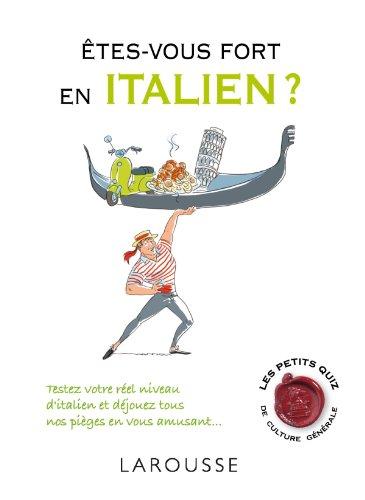 Êtes-vous fort en italien ?