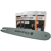 Schwert 3//8P passend Stihl 009 010 011 012 015 30cm 4 Ketten