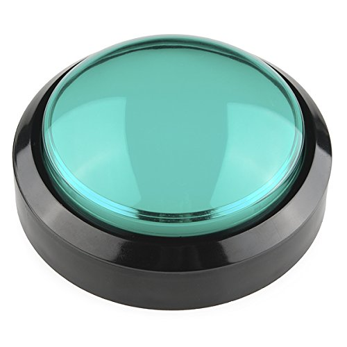 Push-button-modul (Big Dome Push Button - Green)