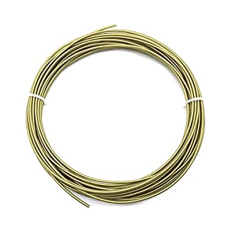 AptoFun Metal-Bronze PLA Filament (1,75mm, 25g, 190°C - 220°C) mit Premium Qualität für 3D Drucker MakerBot RepRap MakerGear Ultimaker uvm/ auch für 3D-Stifte