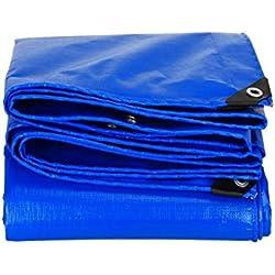 QXJPZ Cubierta de lámina Impermeable para el Suelo Extra Resistente para tareas de construcción de Lona (Disponible en una Variedad de tamaños) (Size : 4x5m)