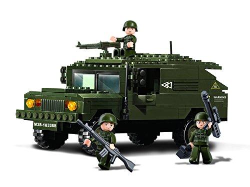 sluban-army-m38-b9900-suv-hummer