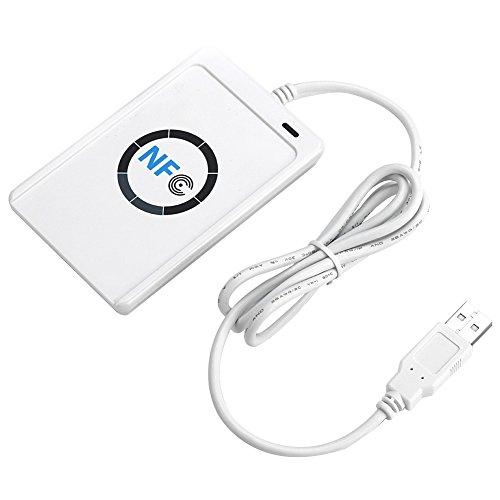 Yosoo Nfc ACR122U Kontaktlose Smart Reader und Writer + SDK + 5x Mifare IC Karte