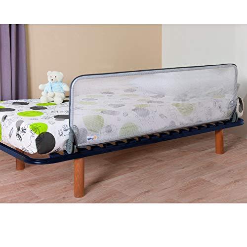 Safety 1st Barriera Letto 150 cm, Sponda Sicurezza Ribaltabile Universale, Sponda Letto anti Caduta - 3