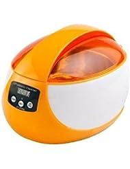 Levin Dental nueva marca Alta calidad 750ml Limpiador ultrasónico Digital 50W de potencia por Proceso de desgasificación especial para CD, VCD y DVD limpiador de cristal reloj ce-5600a