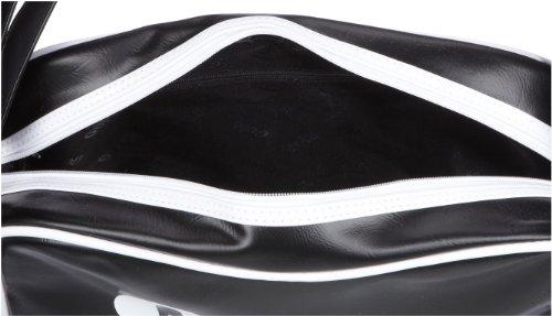 Gola Redford CUB901, Unisex - Erwachsene Henkeltaschen, 36x27x12 cm (B x H x T) Schwarz/Black/White