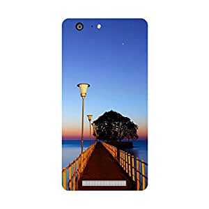 Skintice Designer Back Cover with direct 3D sublimation printing for Gionee Marathon M5
