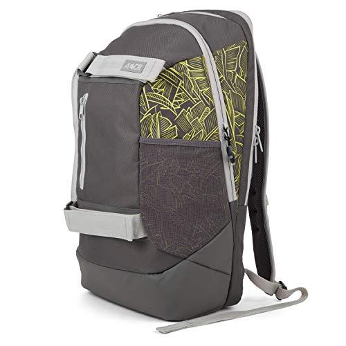 AEVOR Bookpack - Leaf Yellow Rucksack für die Uni inklusive 15 Zoll Laptopfach
